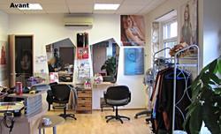 L'espace coiffure avant travaux