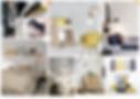 """Planche univers """"chambre cosy"""" par Rocamboles, conseil en décoration d'intérieur et aménagement d'espaces à Lyon"""