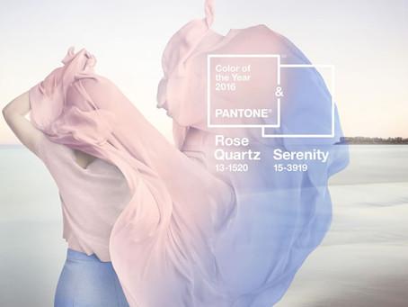 """Serenity et Rose Quartz"" pour 2016"