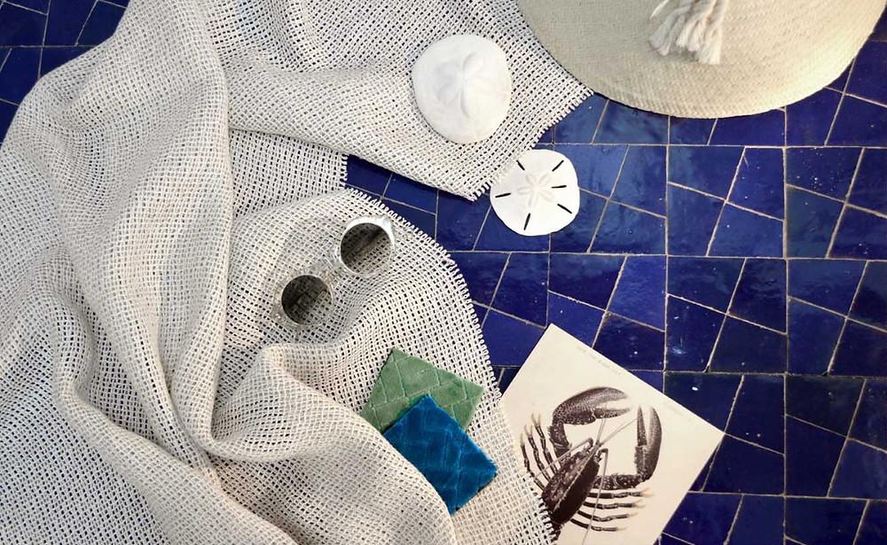 Ateliers Zelij zelliges bleus