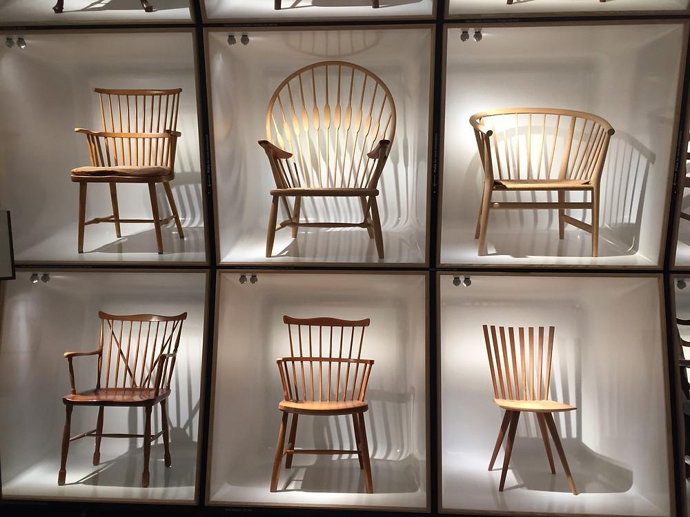 Galerie des Chaises - Musée du Design