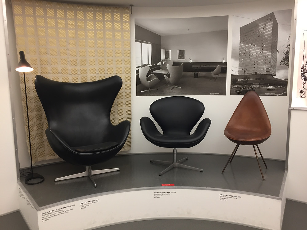 Arne Jacobsen iconiques - Musée du Design