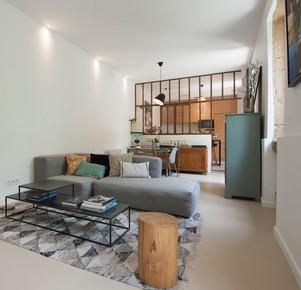 Le salon et son canapé Hay