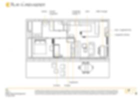 Plan d'aménagement appartement Lyon 2