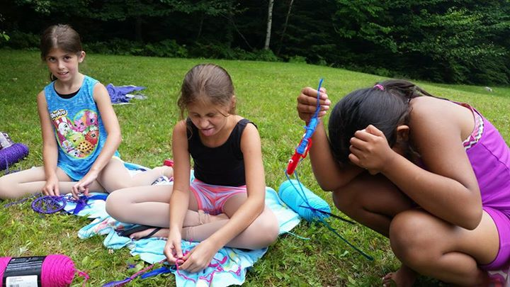 Summer Camp Crafting