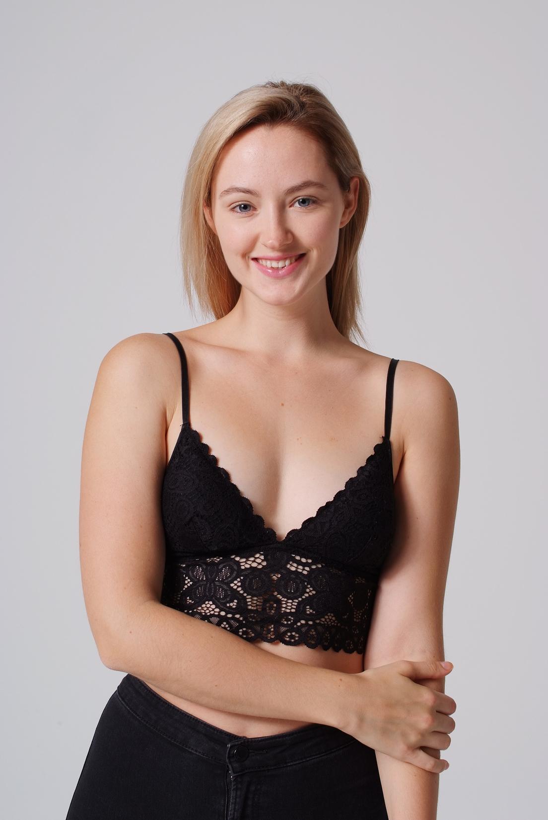 Olivia Libi Lächeln