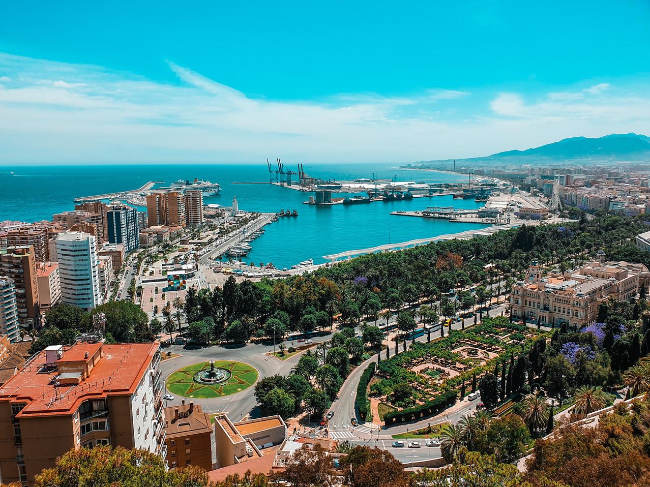 Gibralfaro Malaga View Olivia Libi