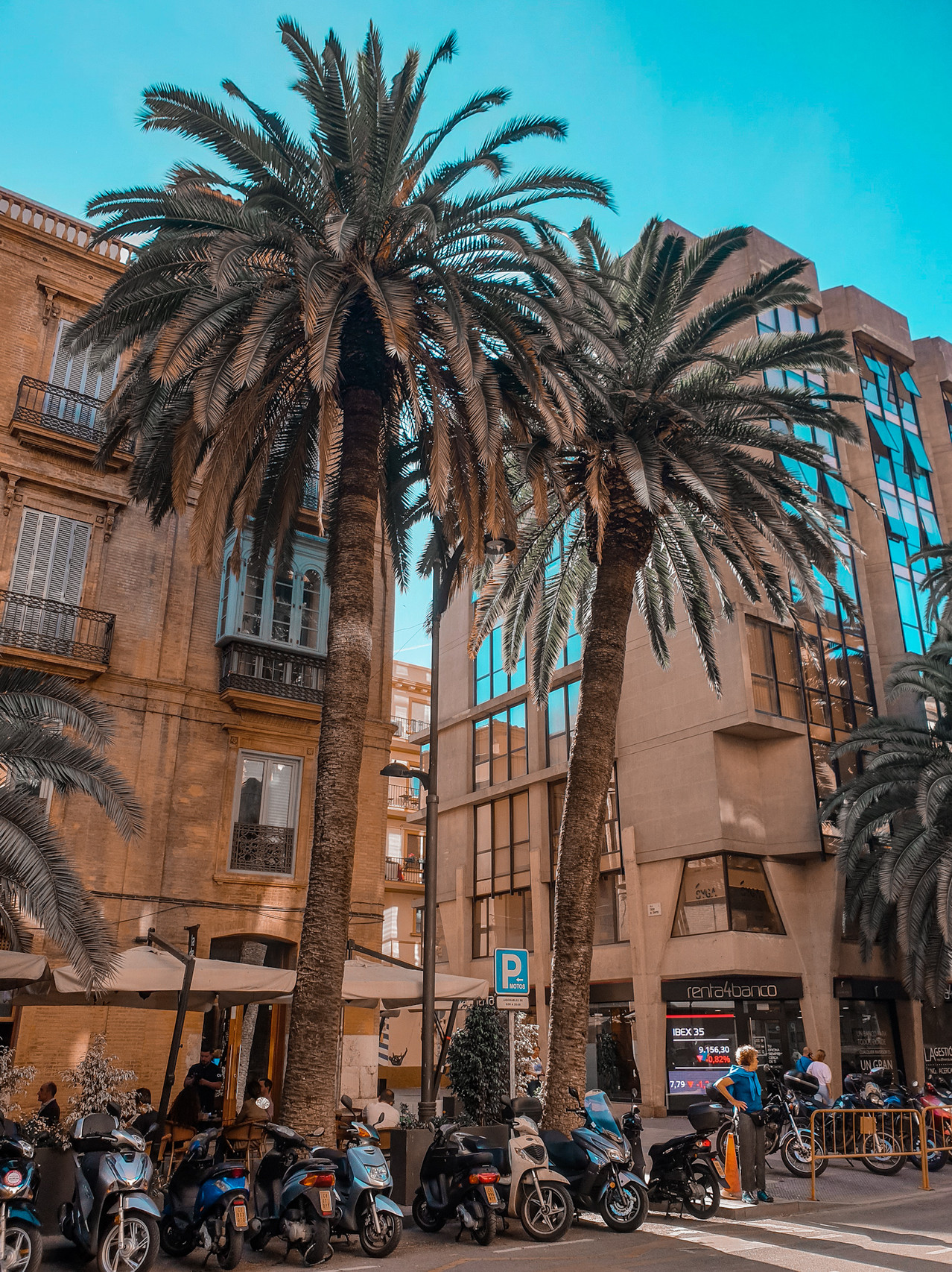 Malaga City by Olivia Libi