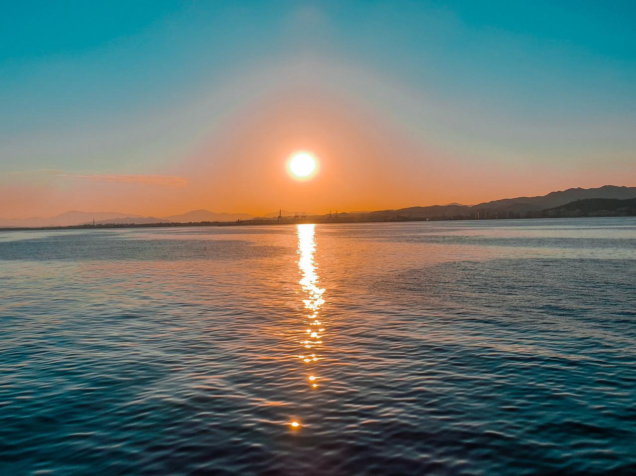 Sonnenuntergang / Sunset Malaga - Olivia Libi