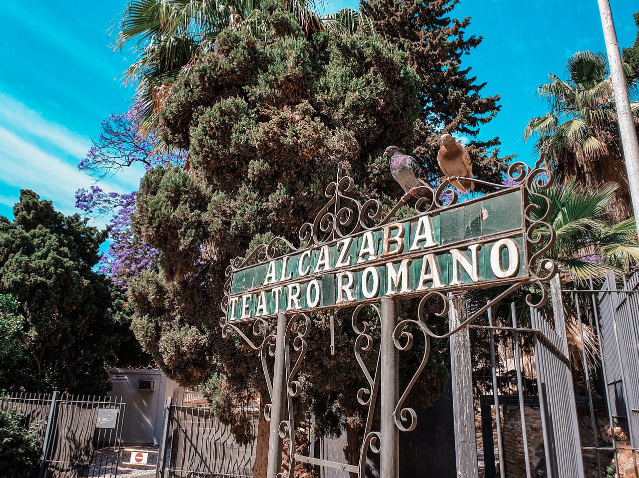 Alcazaba and Teatro Romano Malaga Olivia Libi
