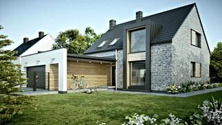 """8 HOUSE"" - single-family house"
