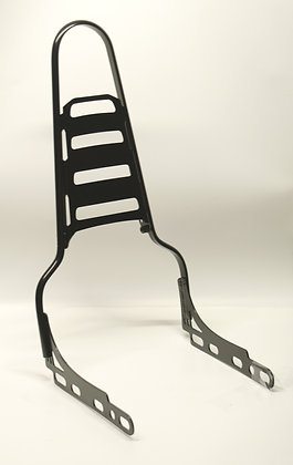 """20"""" Sissy Bar with fold down rack (fits Softails w/180-200 mm rear tire)"""