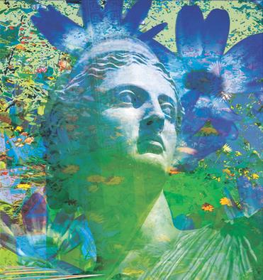 DREAM OF BLUE FLOWERS