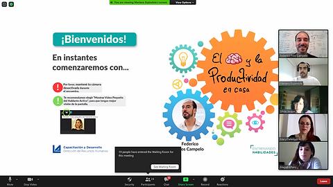 Federico Fros Campelo en Supermercados La Anónima - Entrenando Habilidades