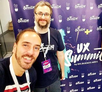 Federico Fros Campelo en el UX Summit de la IDF Buenos Aires
