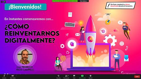Federico Fros Campelo en La Anónima - Cómo Reinventarnos Digitalmente