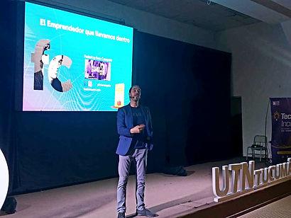 Fros Campelo en UTN Tucuman - El Emprendedor que llevamos dentro