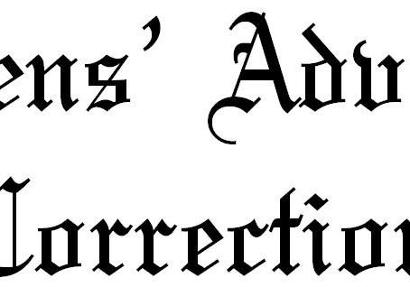Citizens' Advocate Corrrection