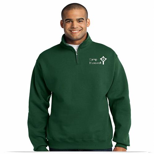 Adult Half-Zip Sweatshirt