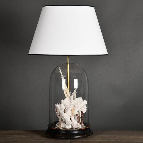 Light In Glass Globe With Seashells