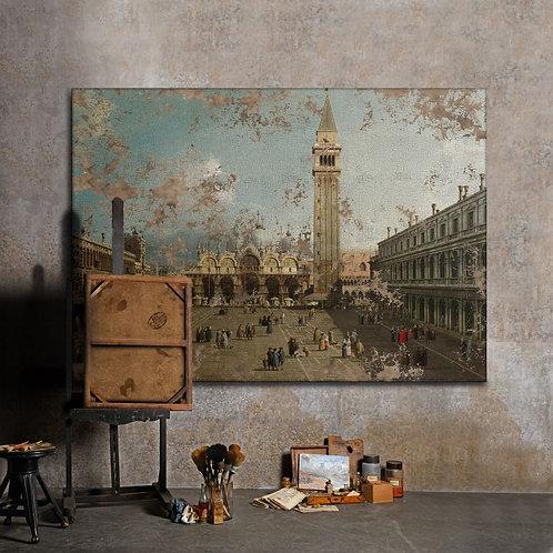 Piazza San Marco, Venice - Canaletto