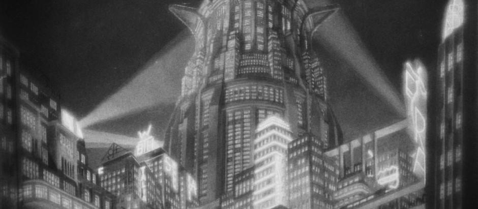 METROPOLIS, 1927. The future was then