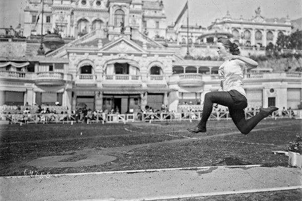 100 years ago today: the first women's Olympiad
