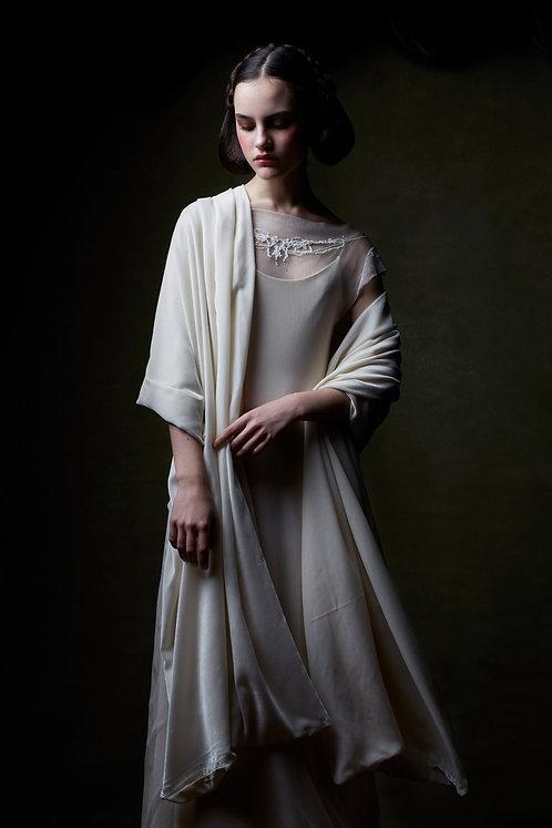 Bridal Velvet silk foulard N. 620