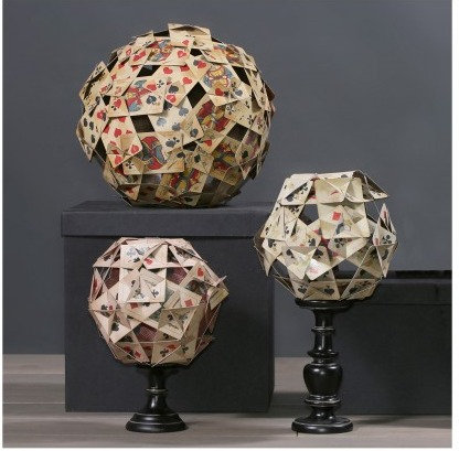 Polyhedrons Of Playing Cards (set of 3)