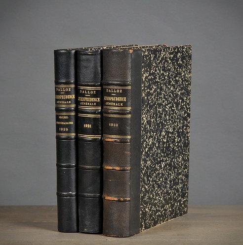 Black Books (set of 3)
