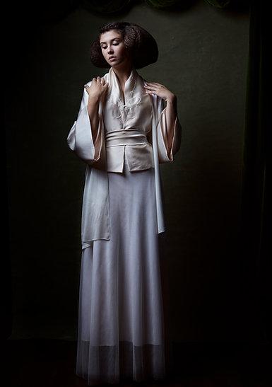 Bridal Silk Kimono Whisper N. 116