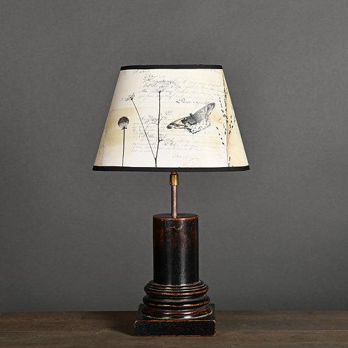 Sculpted Vase-Column Lamp