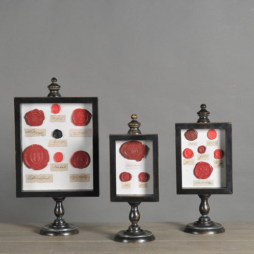 Frames With Wax Seals (set of 3)