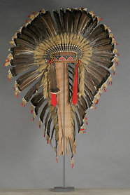Large Sioux Indian Headdress