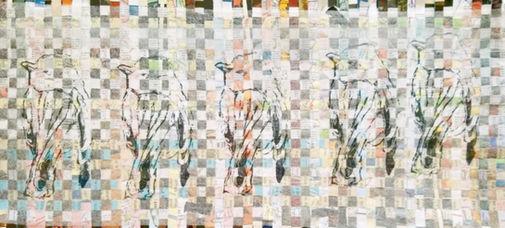 five birds, © 2020, MikeSweeney