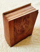 cedar, elm, and walnut burl: book of things we do not know