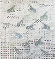 handwoven paper from shredded books and seed catalogs, rice paper, soy based ink