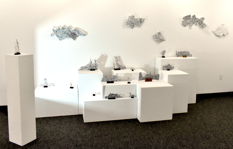 Cloud & Horizon (installation view)