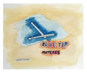 blue tip matches, © 2012 Mike Sweeney