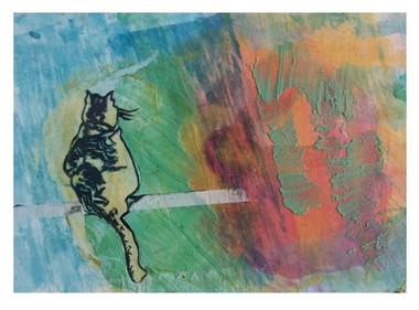 cat, © 2005 Mike Sweeney