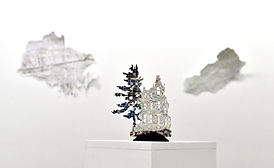 Victorian and Tree (installation view)