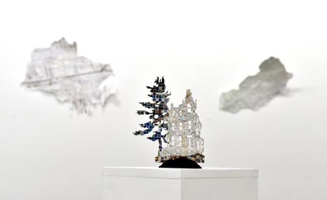 Victorian & Tree (installaton view)