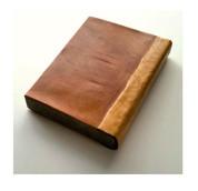 mahogany, birdseye maple and grey piano felt: book of things we do not know