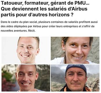 Article paru dans l'actu.fr qui parle de la reconversion professionnelle d'Olivier Babando vers des activités de formateur en CNV