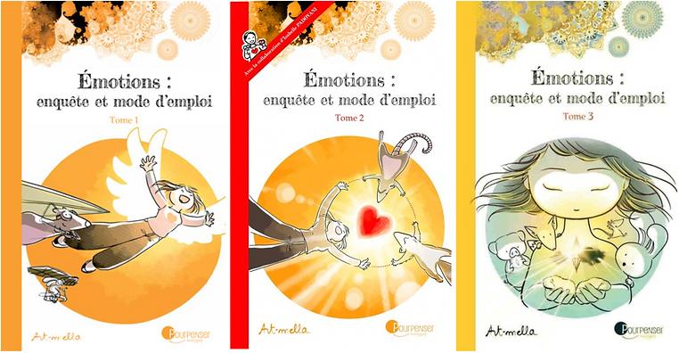 BD de Art-Mella qui donnent de manière illustrée quelques explications du processus de CNV