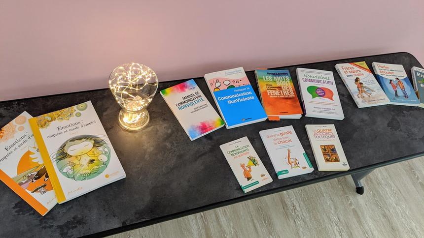 Livres et BD de CNV et d'éducation bienveillante