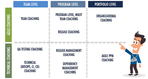 Agile coachingn grid