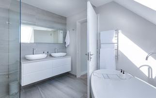 Paris 16, réaménagement partielle, salle de bain et chambre