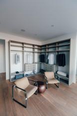 Boulogne Billancourt; revêtement de sol parquet , dressing