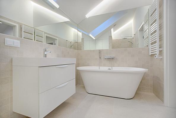 Paris 18, réfection salle de bain secondaire